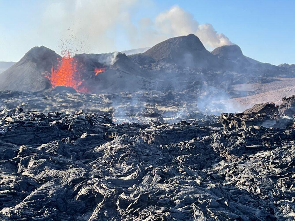 Docabroad actieve vulkaan IJsland