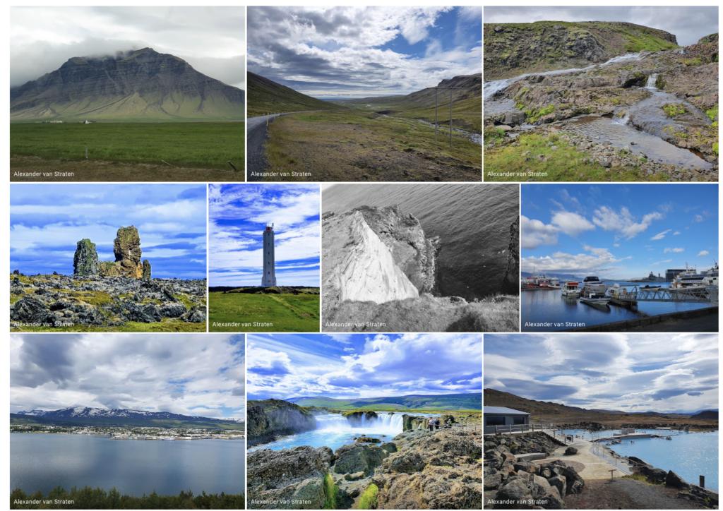 Docabroad foto's van IJsland